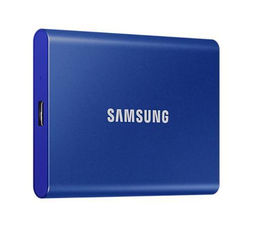 500GB T7 USB3.2C Portable Blue Ext SSD