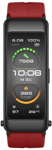TalkBand B6 Smart Watch Coral Red