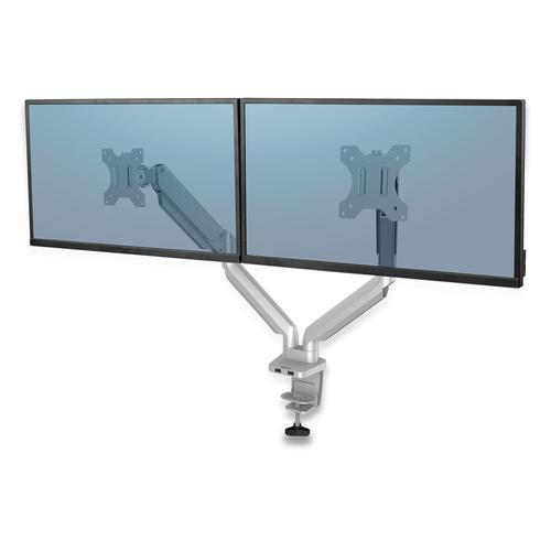 Fellowes Platinum Series Dual Monitor Arm Silver