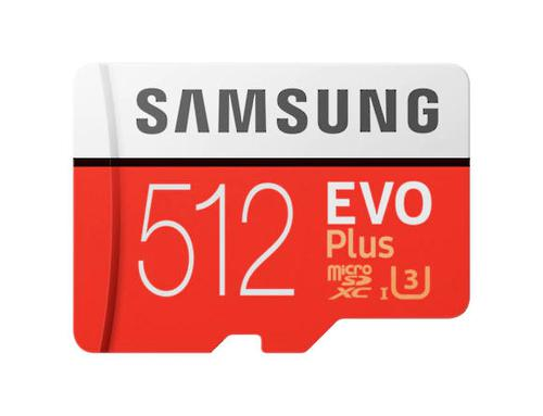 512GB EVO Plus CL10 MicroSDXC and AD
