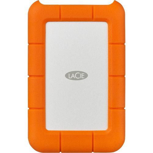 1TB Orange Rugged NVMe USB C Ext SSD