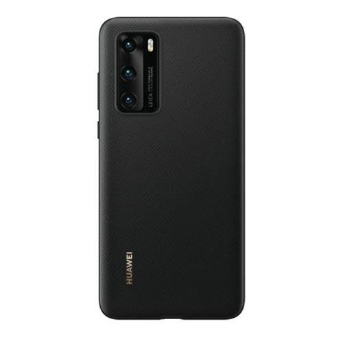 Huawei P40 PU Black Mobile Phone Case