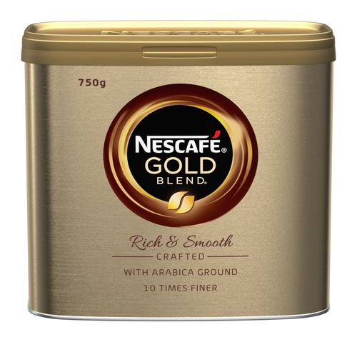 Nescafe Gold Blend Case 6 with Free Nestle Welcome Back to Work Box