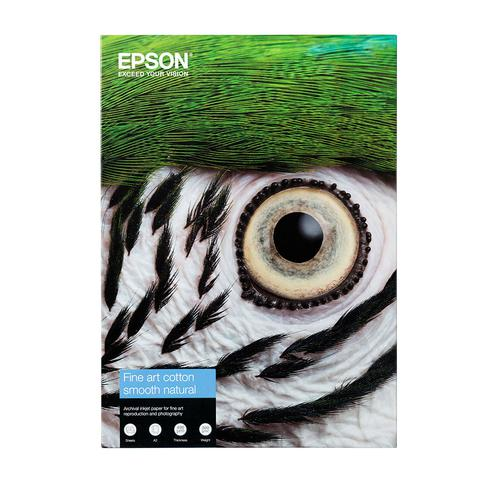 Epson Fine Art Smooth Paper A2 25 Sheets 300Gsm C13S450269