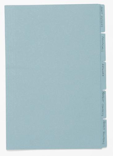 Guildhall Folders Manilla Blue PK100