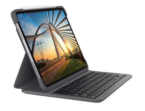 iPad Pro 12.9in QWERTY Slim Folio Case
