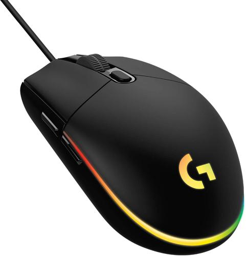 G203 Lightsync USBA 8000 DPI Mouse Black