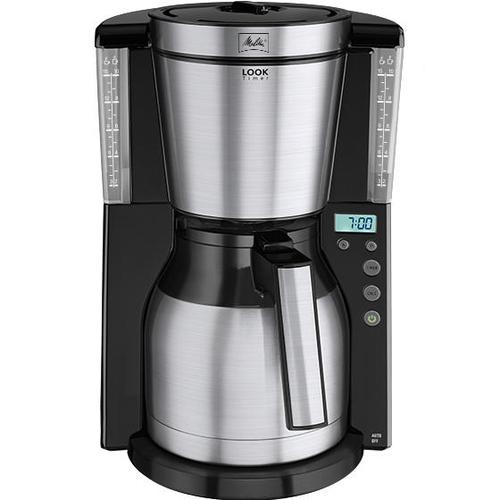 Melitta Look IV Timer Filter Black Coffee Machines