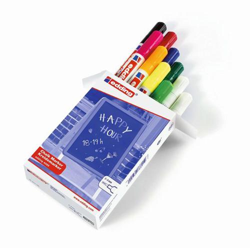 edding 4095 Chalk Marker Assorted PK10