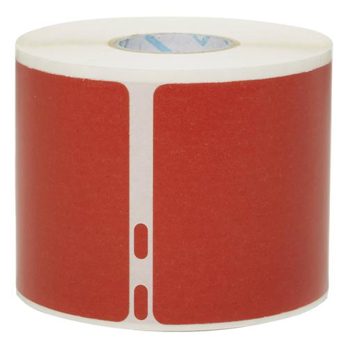 Dymo LW Shipping label or Name badge Red (54x101mm) Roll 220 Labels