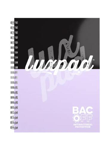 Silvine Luxpad Antibac Twinwire Notebook A4+ (Pack of 3) LUXA4BAC