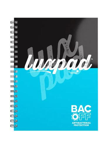Silvine LUXPAD A5 Plus BacOff Anti-bacterial Notebooks (Pack 3) LUXA5BAC