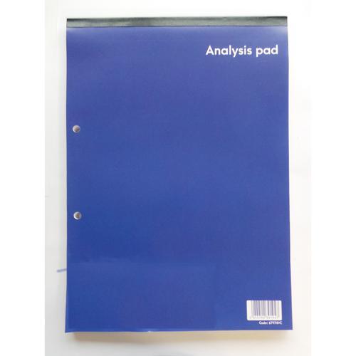 ValueX Analysis Pad A4 8 Cash Columns Single