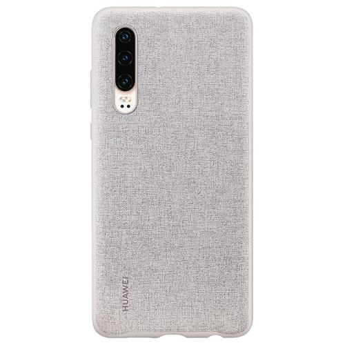 Huawei P30 PU Phone Case Elegant Grey