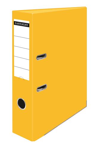 ValueX Lever Arch File A4 PP Yellow