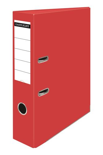ValueX Lever Arch File Polypropylene A4 70mm Spine Width Red (Pack 10)