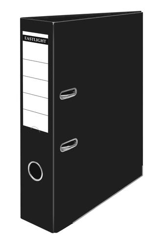 ValueX Lever Arch File A4 PP Black (Pack 10)