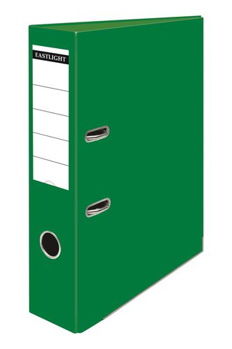 ValueX Lever Arch File Polypropylene A4 70mm Spine Width Green (Pack 10)