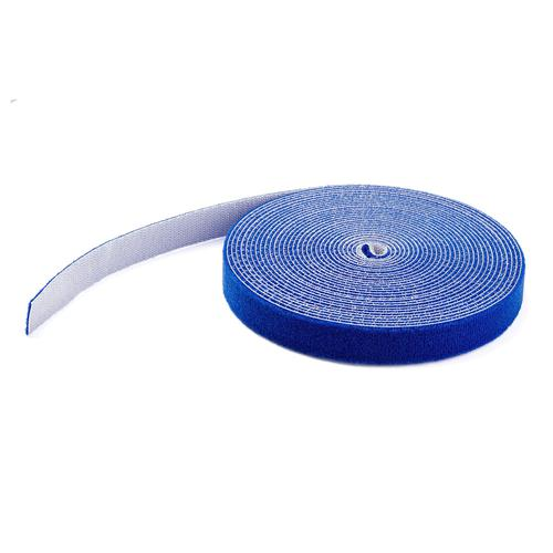 50 ft Hook and Loop Blue Cable Roll