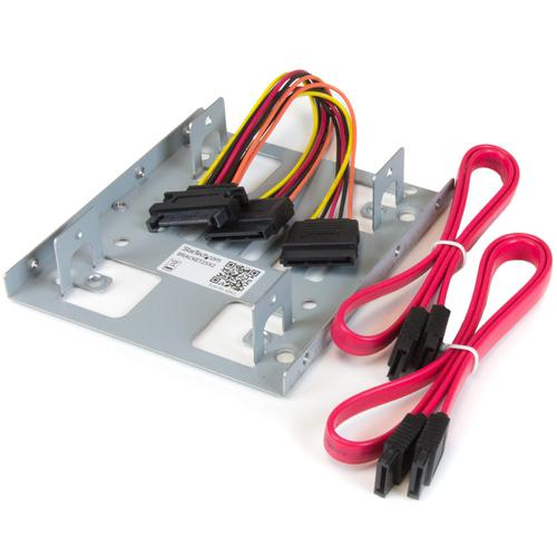 Dual 2.5 to 3.5 HDD Bracket for SATA HDD