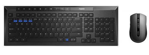 Rapoo 8200m Wireless Combo Black