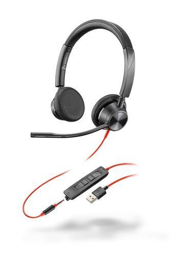 Blackwire 3325 USB A UC Binaural Headset