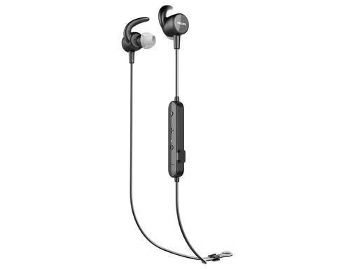Action Fit Bluetooth Headphones Black