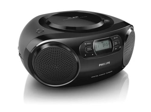 Philips AZB500 DAB Boombox In Black
