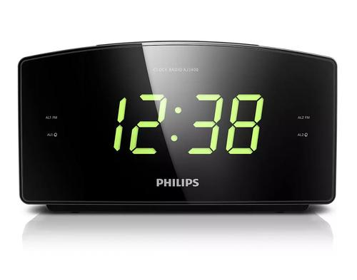 Philips Big Display Clock Radio