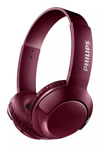 Bass Plus OnEar Bluetooth Headphones Red