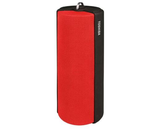 Toshiba Bluetooth Fabric Speaker Red