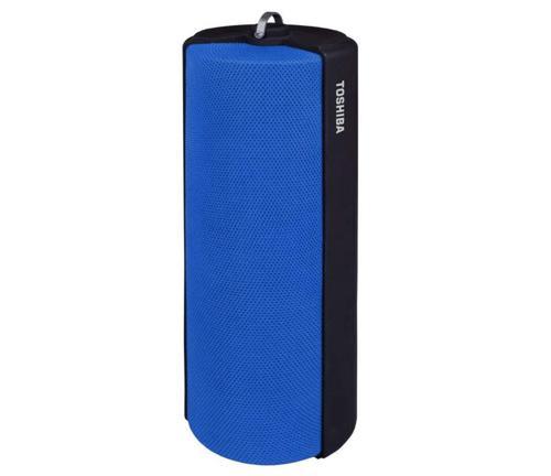 Toshiba Bluetooth Fabric Speaker Blue