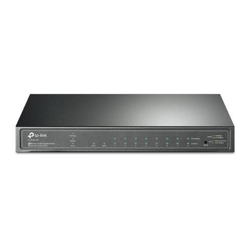 JetStream 8PT GB PoE Switch 2 SFP Slots