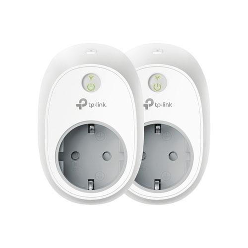 TP Link Smart WiFi Plug 2 Pack EU Plug