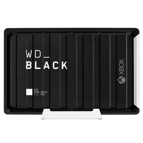 12TB WD Black USB3.2 7200 RPM Ext HDD