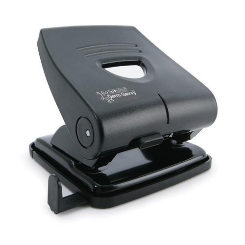 Rapesco 827-P 2-Hole Metal Hole Punch Black