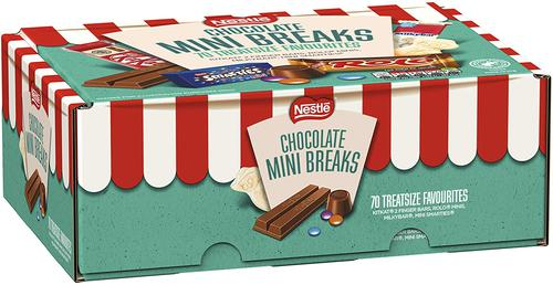 Nestle Mini Breaks 70 Pieces Mixed Box