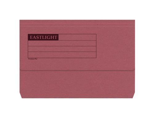 ValueX Document Wallet Heavyweight Half Flap Foolscap RD (Pack 50)