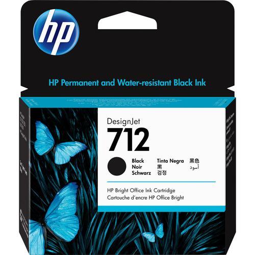 HP 3ED71A 712 BLACK INK CARTRIDGE 80ML