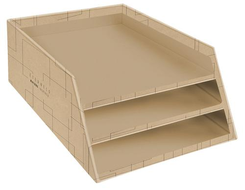 Eterneco Letter Tray with 3 Levels in Cardboard