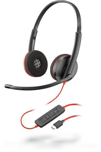 POLY Blackwire C3220 USB C Headset