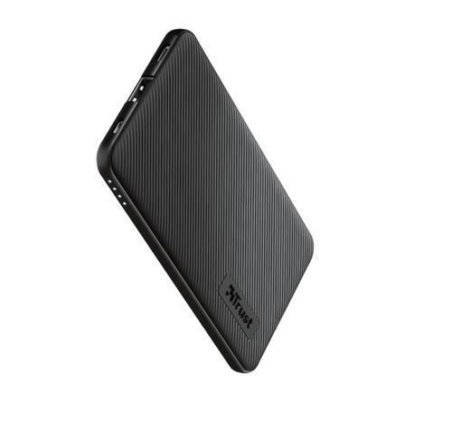 Trust Primo Ultra-thin Powerbank 5.000 mAh Black 23596