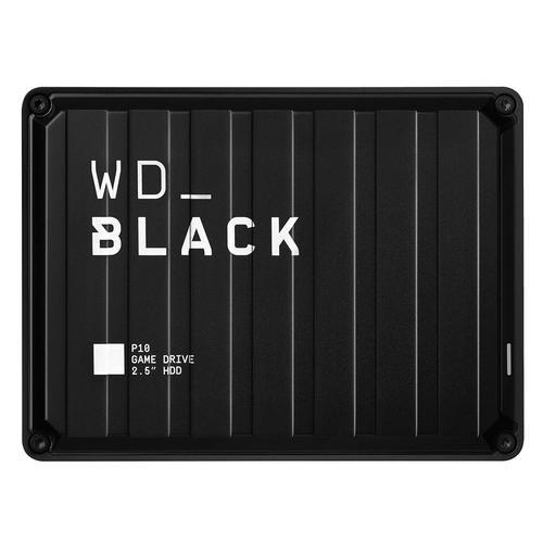 4TB WD Black P10 USB 3.2 Black Ext HDD