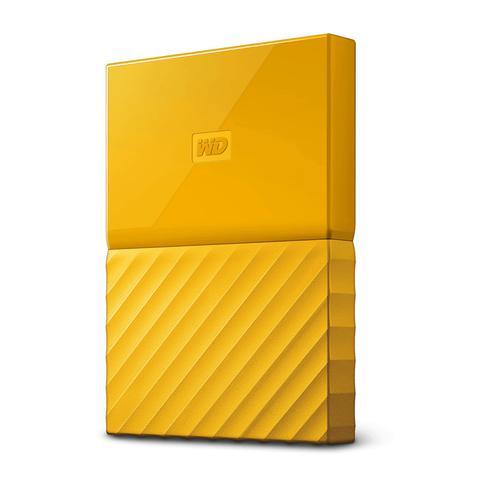 2TB My Passport USB 3.0 Yellow Ext HDD