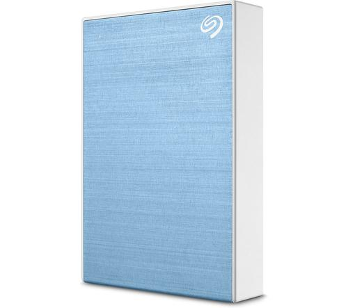 5TB One Touch USB 3.0 Light Blue Ext HDD