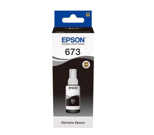 EPSON T6731 BLACK INK CART 70ML