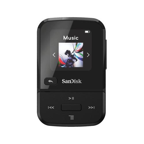 Sandisk® Clip Sport Go Black 16GB SDMX30-016G-E46K