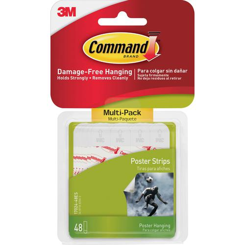 Command Poster Strips Value Pack 17024-VP PK48 7100235860