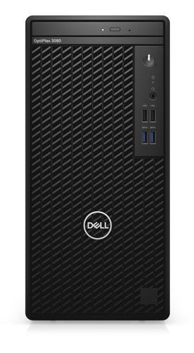 DELL OptiPlex 3080 Mini Tower 10th gen Intel Core i5 10500 8GB DDR4 SDRAM 256GB SSD UHD Graphics 630 Windows 10 Pro PC Black