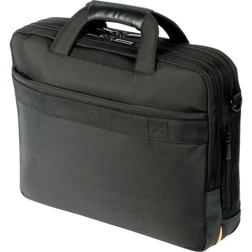 Nylon Black Carrying Case Targus Toploader Meridian II Briefcase fits most Laptops up to 15.6 Inches